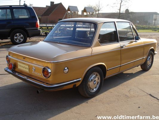 BMW 2002 Automatic + LPG (GPL) (1972)