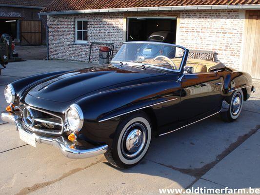 Mercedes Benz 190 Sl 1959 Verkocht Ref 540