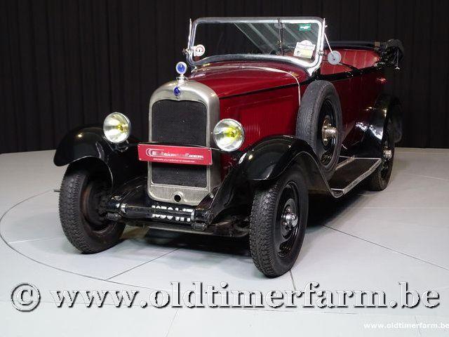 citro n ac4 torpedo 39 30 1930 vendue ch3153. Black Bedroom Furniture Sets. Home Design Ideas