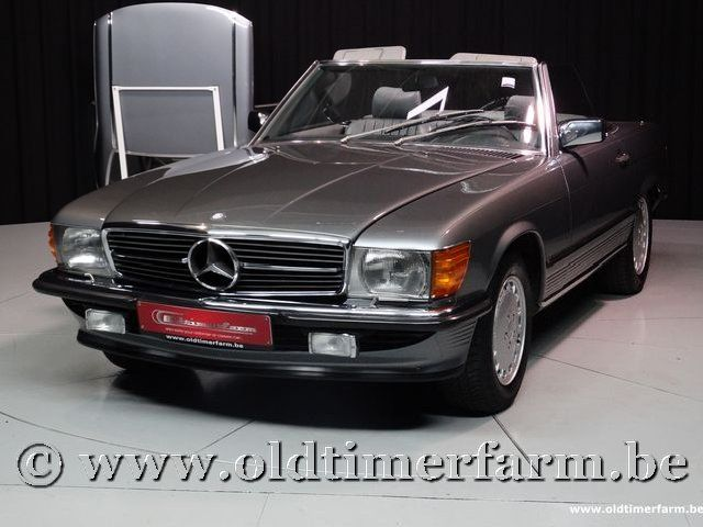 Mercedes-Benz 300SL R107 Grey '87