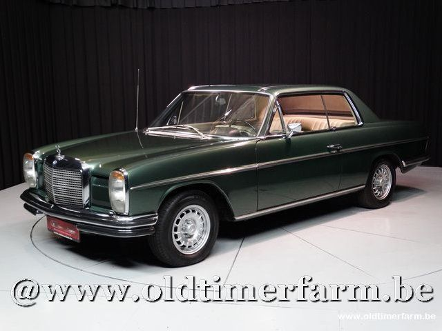 mercedes benz 250c w114 coup 39 71 1971 sold ch7701. Black Bedroom Furniture Sets. Home Design Ideas