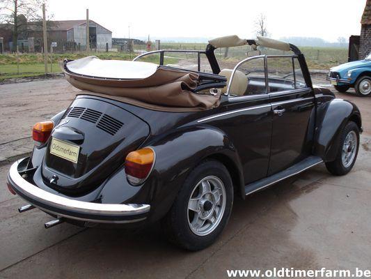 Volkswagen Kever 1303 Cabriolet (1978)