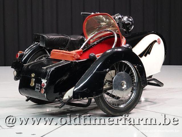 Sarolea T6 + Sidecar
