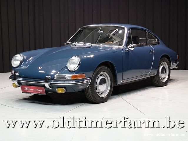 Porsche 912 Coupé Aga blue '66