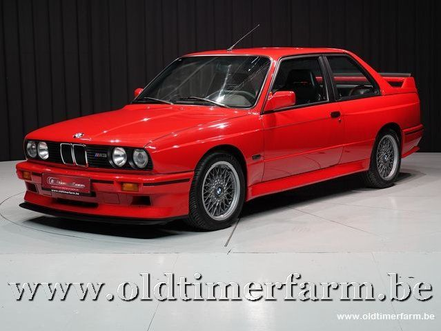 BMW E30 M3 Sport Evolution Brilliant Red '90