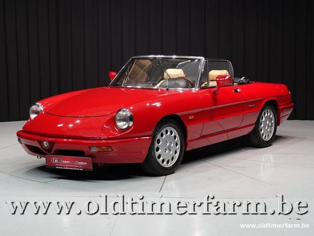 Alfa Romeo Spider 4 Red '91