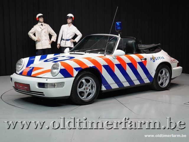 "Porsche 964 Carrera 2 Cabriolet Rijkspolitie ""Alex 62"" '94"