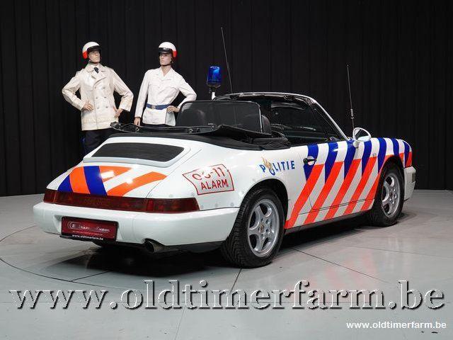 "Porsche 911 964 Carrera 2 Cabriolet Rijkspolitie ""Alex 62"" '94 (1994)"
