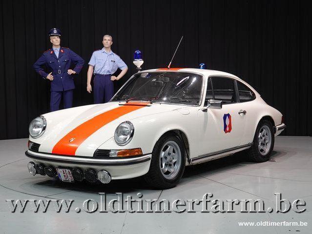 Porsche 911 2.4E Coupé Belgische Rijkswacht '73