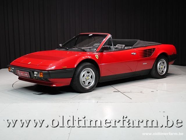 Ferrari Mondial Cabriolet Quattrovalvole '85 CH1263