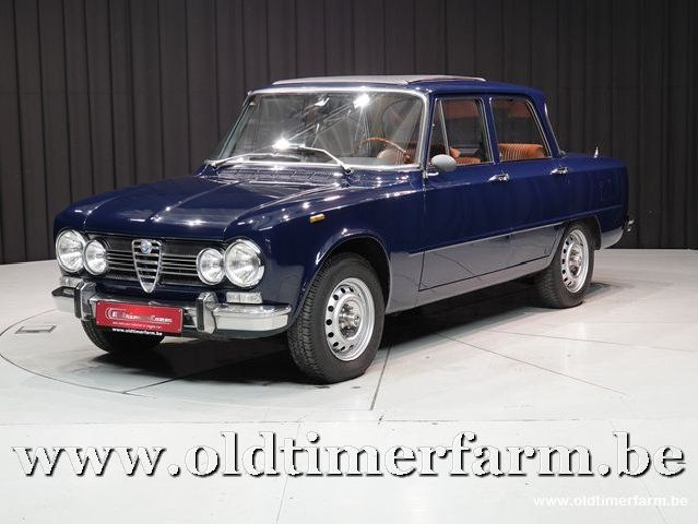 Alfa Romeo Giulia 1300/1600 Super Découvrable '74