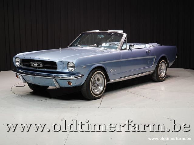 Ford Mustang Convertible V8 Blue '65
