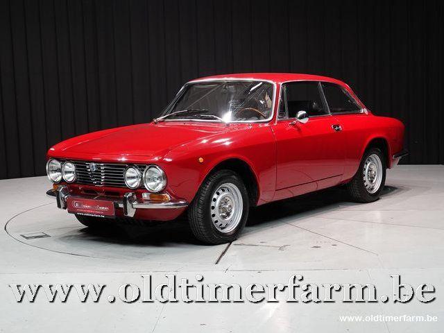 Alfa Romeo GTV 2000 Bertone Red '73