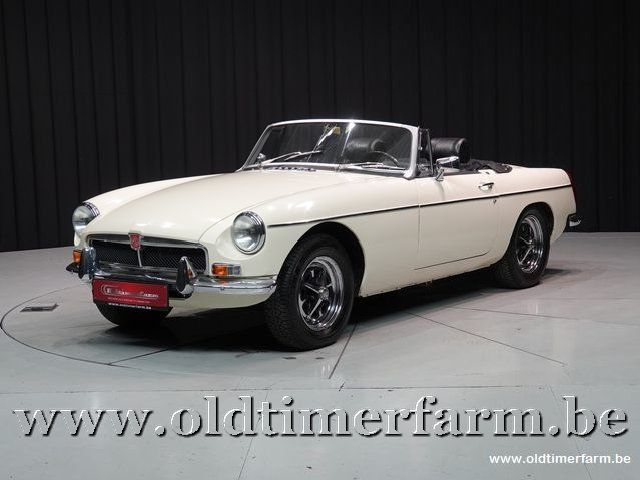 MG B Roadster Old English White '73