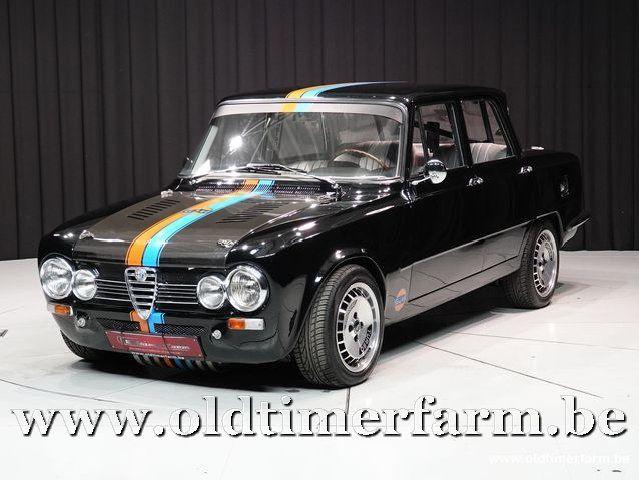 Alfa Romeo Giulia Super 2000 Carbon '68