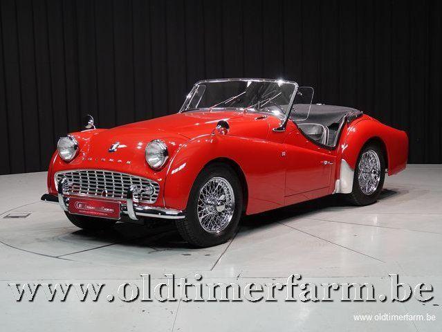 Triumph TR3 A Red '60