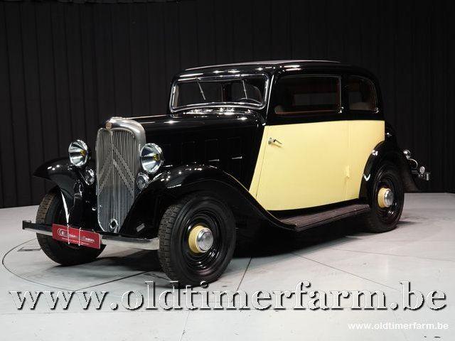 Citroën Rosalie Coach 8A Manessius '34