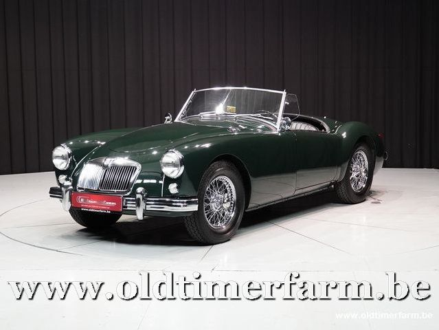 MG A 1500 Roadster British Racing Green '59 (1959)