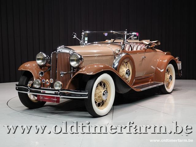 Chrysler  New Series Six Cm Roadster