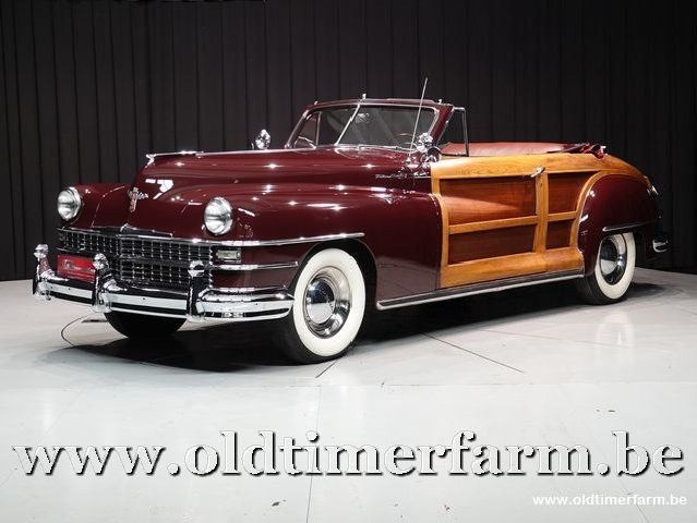 Chrysler Town and Country 2 door Convertible '48 (1948)