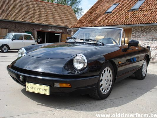 Alfa Romeo Spider 4 1990 Verkocht Ref 589