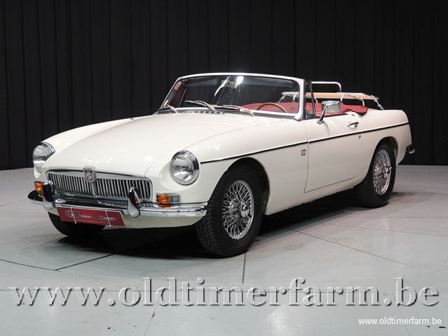 MG B Roadster Old English White  '66