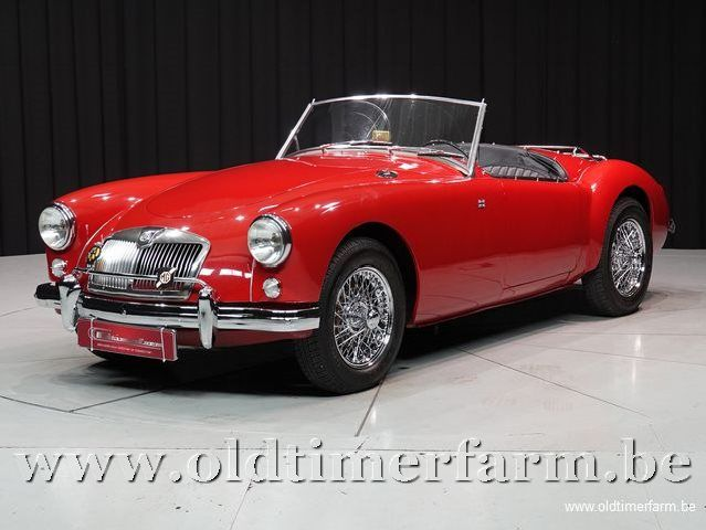 MG A 1500 Roadster Red '57