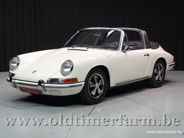 Porsche 912 Targa Soft Window White '67