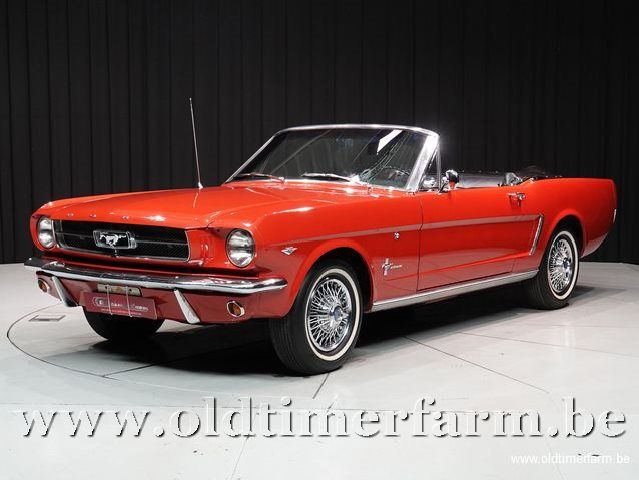 Ford Mustang Convertible V8 Red '65