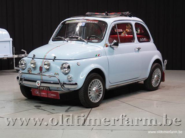 Fiat 500L '71 + trailer