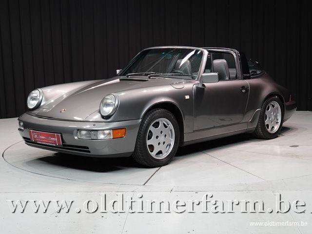 Porsche 911 964 Carrera 2 Targa Grey '90