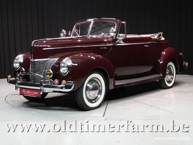 Ford Deluxe V8 Convertible '40