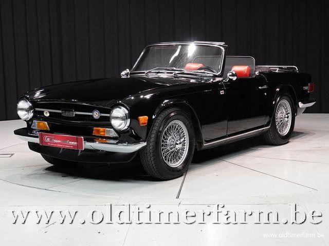 Triumph TR6 Black '75