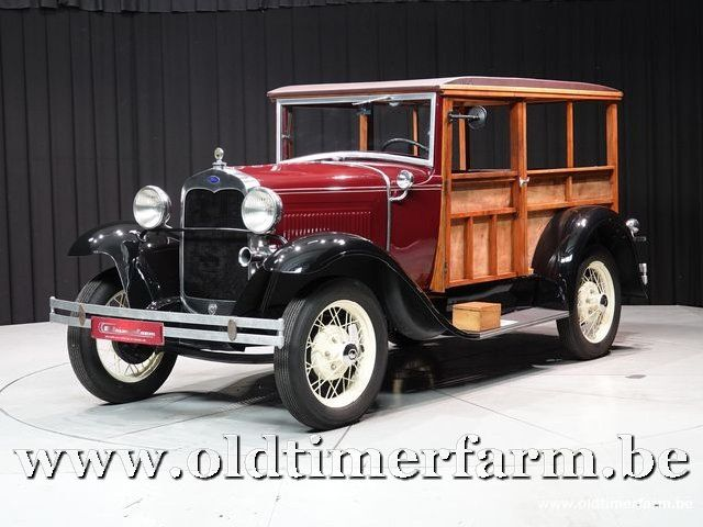 Ford Model A Woody '30 (1930)