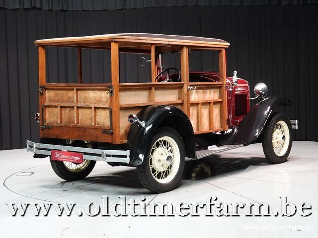 Ford Model A Woody