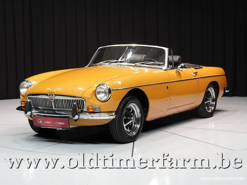 MG B Roadster Mustard Yellow '71 (1971)