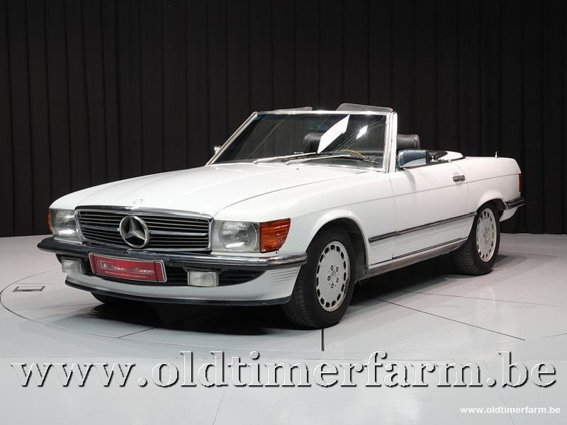 Mercedes-Benz 300SL R107 White