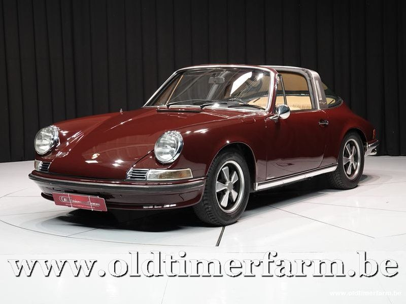 Porsche 911 2.2 T Targa Burgundy '71 (1971)