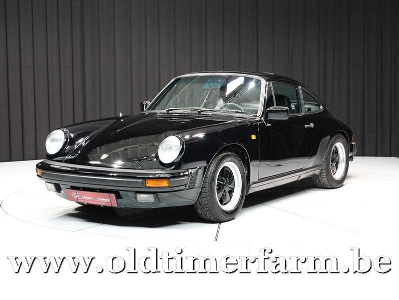 Porsche 911 3.2 Carrera Coupé Black '84 (1984)