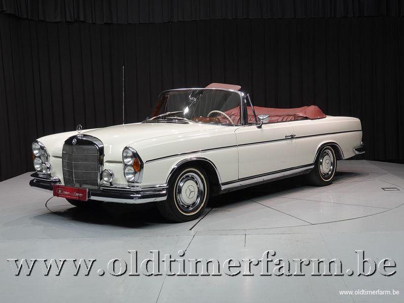 Mercedes-Benz 300SE Cabriolet White