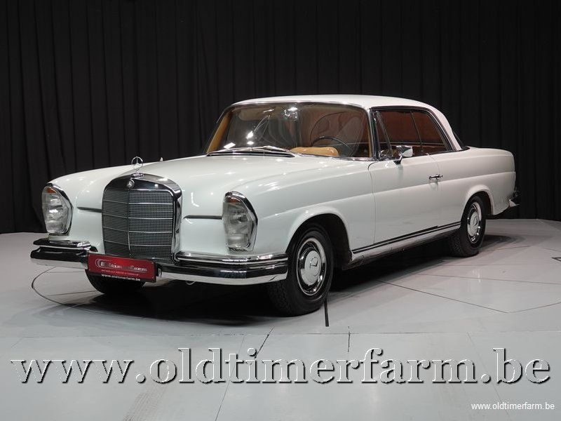 Mercedes-Benz 220SE Coupé White