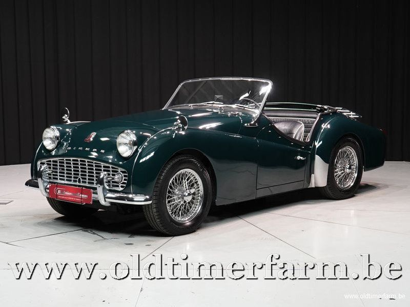 Triumph TR3 A British Racing Green
