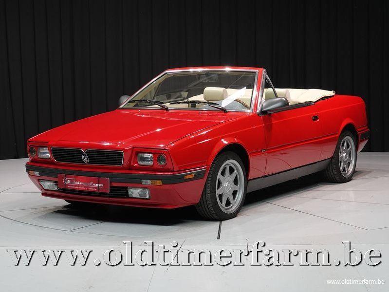 Maserati Biturbo Cabrio 2.8