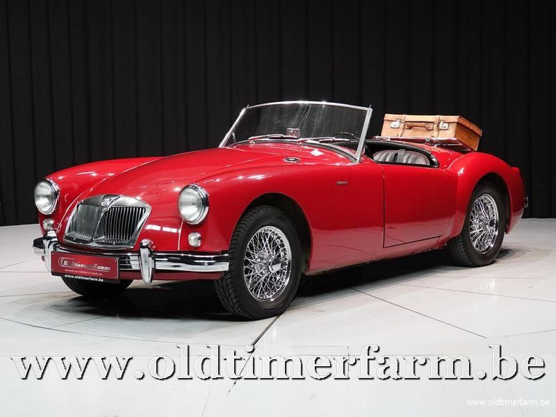 MG A 1600 Red '59 (1959)