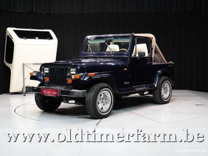 Jeep Wrangler 4x4 Laredo 2-seater '90 (1990)