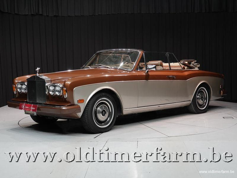Rolls Royce Corniche Drop Head Coupé '81 (1981)