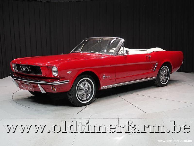 Ford Mustang Cabriolet V8 '66 (1966)