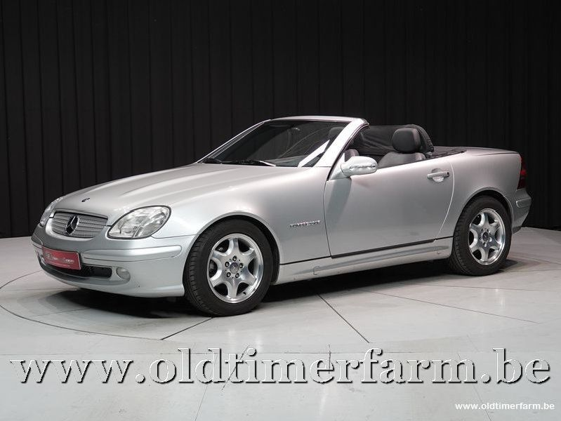 Mercedes-Benz 200 SLK kompressor 2000 (2000)
