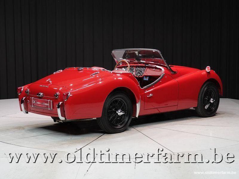 Triumph TR3 '62 (1962)