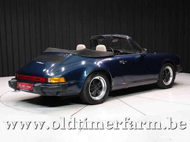 Porsche 911 3.0 SC Cabriolet '83 (1983)